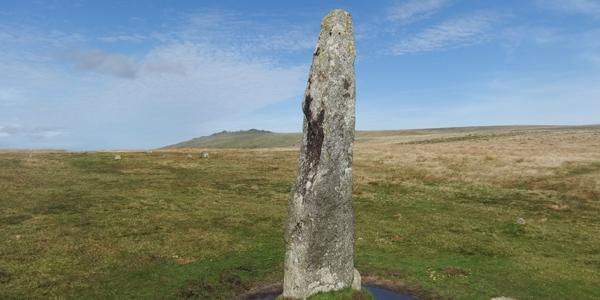 Merrivale Standing Stone