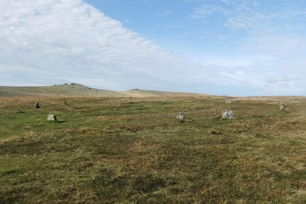 Stone Circle at Merrivale